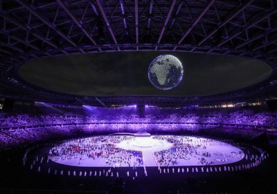 东京奥运会开幕式回放